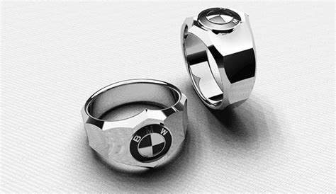 BMW silver ring