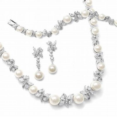 Pearls jewelry sets